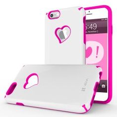 Top List: Cheap Valentines Day Gifts for Girlfriend (Under 20 Dollars). Heart Case for Apple iPhone 6.
