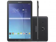 "Tablet Samsung Galaxy Tab E 8GB 9,6"" 3G Wi-Fi - Android 4.4 Quad-Core Câm. 5MP + Frontal 2MP GPS"