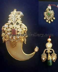 Exclusive Pendants by Suraj Bhan Jewellers | Jewellery Designs