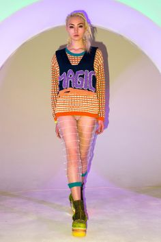 The Fall Runways Were Filled With Ravers and Club Kids: Degen