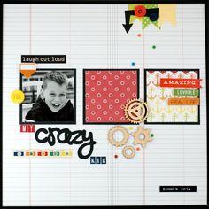 My Crazy Kid - Scrapbook.com