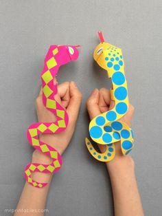 Printable Finger Puppets for Kids | Mr Printables