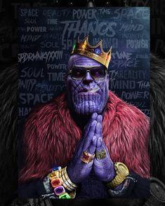 Thanos by spdrmnkyxxiii