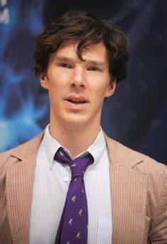Benedict Cumberbatch at the launch of The Deep exhibition at the Natural History Museum in 2010
