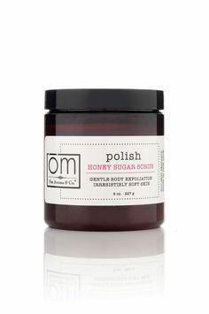 Organic Honey Sugar Scrub