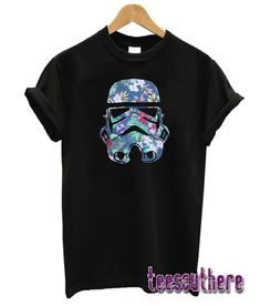 Stormtrooper Floral T-Shirt Stormtrooper T Shirt, Girl Style, Tees, Shirts, Floral, Mens Tops, Shopping, Fashion, Moda