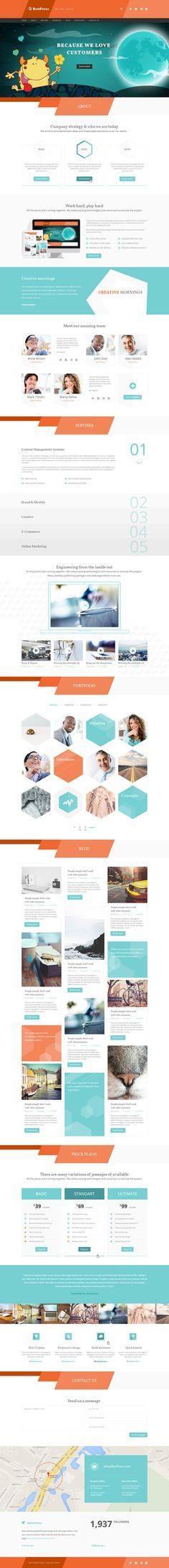 BestPress - Creative Landing Page #psdtemplates #onepagetemplates #businesstemplates #websitetemplates