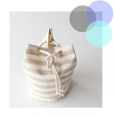 diy - tuto bourse marinière Coin Couture, Couture Sewing, Sac Vanessa Bruno, Diy Sac, Beach Dresses, Diy Clothes, Bucket Bag, Purses And Bags, Pouch