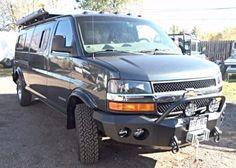 2wd Chevy Express 4 Quot Lift Kit Van Build Pinterest