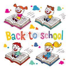Vector: Back to school