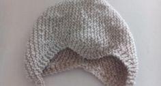 strikmuts, babymuts breien moeke yarns gratis patroon