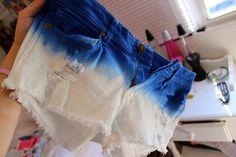 Ombré Tie Dye Shorts  Fashion   Shorts