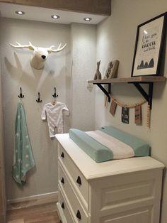 Mijn Babykamer mint wit zwart