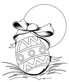 pre-k easter coloring pages