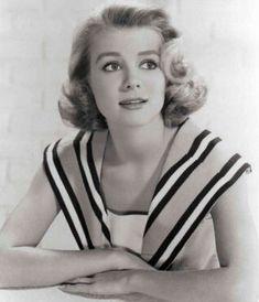 """In Inger Stevens won a Golden Globe Award - Best TV Star - Female for: """"The Farmer's Daughter"""". Swedish Actresses, Classic Actresses, Female Actresses, Hollywood Actresses, Beautiful Actresses, Actors & Actresses, Inger Stevens, Golden Globe Award Winners, Teresa Wright"""