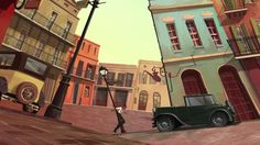 """""""Jazz'in"""" is a short animated movie created by Gobelins students Joël CORCIA, Wandrille MAUNOURY, Bong NGUYEN, Thomas RETEUNA and Bernard SOM. Synopsis 