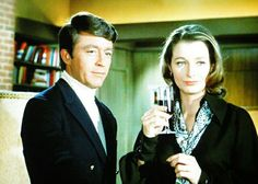 "Bill Bixby + Diana Muldaur in ""The Courtship of Eddie's Father"""