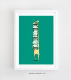 Hey, I found this really awesome Etsy listing at https://www.etsy.com/listing/70883027/a-book-lover-art-print