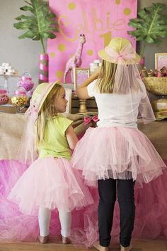 Pink & Gold Safari Glam Birthday Party Ideas | Photo 3 of 17 | Catch My Party