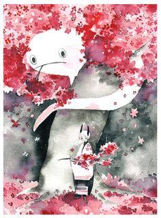 sakura by koyamori.deviantart.com on @deviantART