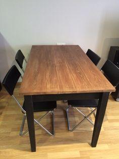 Mesa de madera by www.miulasmobles.com