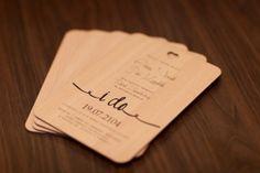 Rustic elegance wedding invitations DIY printable invitation on HDF Wood - $3 piece. Order by email sklep@templedesign.pl  #rusticwedding #weddinginvitations #invitations
