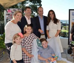 """Prince William and Catherine, Duchess of Cambridge, aka Kate Middleton, visiting Bear Cottage, the only children's hospice in all of New South Wales, Australia. Kate is wearing a broderie anglaise """"Roamer Day Dress"""" from Zimmermann, Natalie clutch from LK Bennett, Stuart Weitzman Minx Espadrille Wedges, and her Cartier Wristwatch from the Ballon de Bleu collection. 4/18/14"""