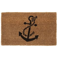 Anchor Doormat 45x75cm $29.95 #freedomaustralia #islandlife