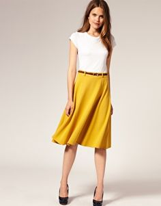 This skirt would be great for summer work outfits. $55