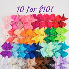 Hey, I found this really awesome Etsy listing at https://www.etsy.com/listing/235214499/little-girl-bows-35-hair-bow-clips-girls