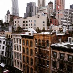 Charming #TriBeCa buildings #NYC #CosmoTriBeCa