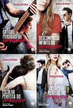 Românticos e Eróticos  Book: Bianca Briones - Batidas Perdidas #1 a #3
