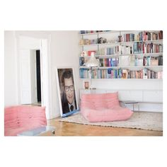 Once upon a time we dreamed about N'sync, now we dream about pink Ligne Roset sofas #bxxlght #bxxlghtinspiration