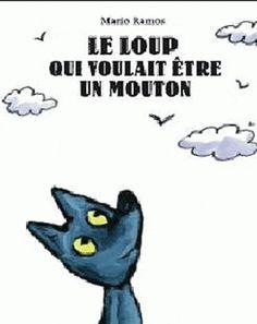 Petit Loup veut sortir du bois et devenir un mouton pour pouvoir s'envoler dans le ciel comme les moutons qu'il a observés attentivement.