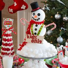 Our DIY Snowman Centerpiece allows you to create a fantastic centerpiece for your Christmas gatherings.