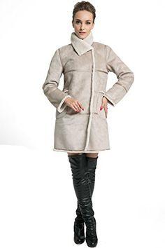 CHAQUETA de PIEL SINTÉTICA   Ahora puedes mantenerte calentito y de moda con este abrigo de cuero sintético.  Este chaqueta te quitará el frío sin falta en el pleno invierno.  ENVIO GRATIS con AMAZON PREMIUM