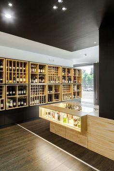 'Bottles' Congress' store by Tiago do Vale Arquitectos in Braga, Portugal