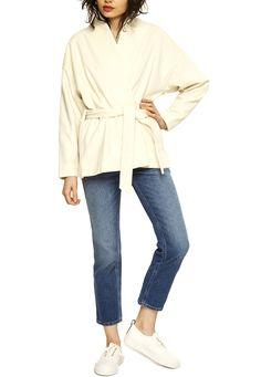 Totéme Wool Jacket With Belt Duster Coat, Belt, Wool, Jackets, Fashion, Belts, Down Jackets, Moda, Waist Belts