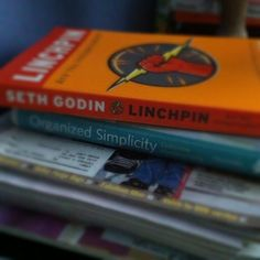 {The book that changed my life}  A blogger cannot give a better review than that... LinchPin by Seth Godin.  Have you read it?