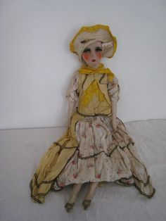 Poupée de salon ancienne boudoir doll old doll 1920-1930 art déco | eBay