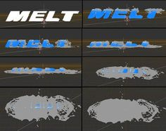 RealFlow Melt or Melting - RealFlow Tutorials, collected to pinterest.com from http://vfxconsultancy.com/tutorials/animation-tutorials/realflow/dynamics/tutor/2.html