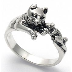Cat and Mouse Ring