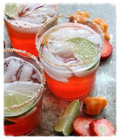 Strawberry Habanero Margarita - Chilli Drinks