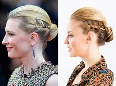 Oscar winner Cate Blanchett's latest accolade was taking the title of Most Enviable Updo when we chose the big beauty winners at this year's Cannes Film Festival (Congrats C!). Here's the step by step guide to recreate this simply stunning style.