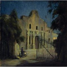 The Alamo, Frank Klepper, early 1930s, Dallas Museum of Art