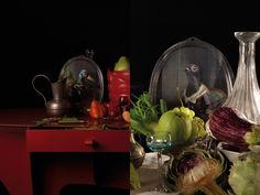 Achille & Isild #ibride #tray #artwork #design #home #decoration #wall http://www.ibride.fr/galerie-de-portraits/