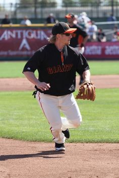 Mike Fontenot, SF Giants Spring Training 2012