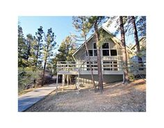 42386 Fox Farm Rd, Big Bear Loft Cabin...I can dream :)