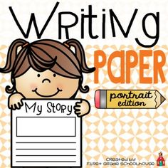 Writing Paper Portrait Edition is a packet of writing paper that can be used throughout the year. All the writing papers have a portrait orientation. The packet includes lined writing paper with a space for pictures, as well as, pages of only lined paper if you want to print front to back.