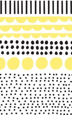 Yellow dots  | #phonewallpaper #phonebackground #iphone #phone